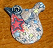 Single Bird Brooch © Jan Lane